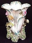 Rare Antique Coalport Flora-Form Vase