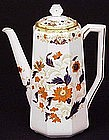 Antique Wedgwood Imari Porcelain Coffee Pot