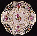 8 Gorgeous Sevres Style Reticulated Dessert Plates