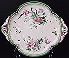 Fabulous French Faience Tray with Handles