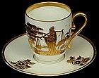 Elegant Rosenthal Demitasse Cup & Saucer Oriental Décor