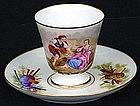 Classic Old Paris Tea Cup & Saucer