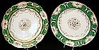 Magnificent Pair of Paris Plates by Honore