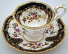 Antique English Tea Cup and Saucer