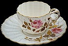 Dainty Ott & Brewer Demitasse Cup and Saucer