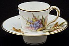 Rare Worcester Trembleuse Cup and Saucer