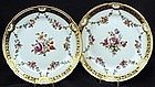 Pair of Elegant Antique Royal Vienna Plates