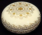 Elegant Antique Coalport Enameled Covered Box