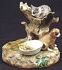 Adorable Antique Meissen Animal Group