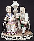 Charming Antique Ludwigsburg German Figural Group