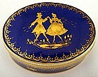 Charming Art Deco Lamm Dresden Porcelain Box