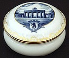 Meissen Porcelain Box Brandenburg Gate