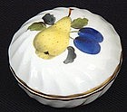 Sweet Herend Hungarian Porcelain Box