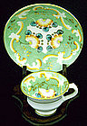 Early Staffordshire Miniature Cup and Saucer
