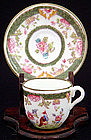 Delightful Coalport Miniature Cup and Saucer