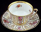 Delightful Lamm Dresden Tea Cup & Saucer