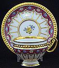 Delightful Dresden Demitasse Cup & Saucer