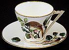 Unusual Antique Bodley Tea Cup & Sauce