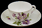 Sweet Nymphenburg Demitasse Cup & Saucer