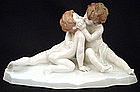 Antique Rosenthal Cherub Figurine