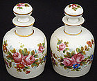 Lovely Pair of French Perfume Bottles