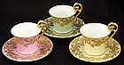 Beautiful T&V Limoges Tea Cup & Saucer