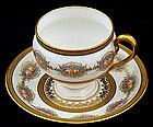 Elegant Ahrenfeldt Limoges Tea Cup & Saucer