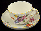 Beautiful Meissen Tea Cup & Saucer
