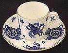 Huge Antique Coalport Coffee Cup & Saucer