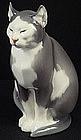 Rare Dahl Jensen Copenhagen Cat