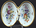 Charming Sitzendorf Double Nut Dish