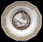 Antique Nymphenburg Scenic Cabinet Plate