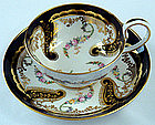 Antique Copeland Tea Cup & Saucer, Sevres Style