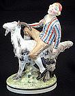 Royal Copenhagen Figurine Hans Clodhopper Cold Painted
