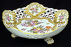 Antique Bourdois & Bloch French Footed Bowl
