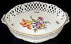 Exquisite Antique Nymphenburg Basket/Bowl