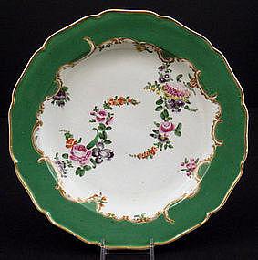 Antique Worcester Plate c. 1770