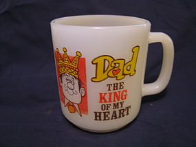 Dad King of My Heart Mug