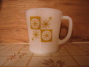 Fire King Snowflake Mug