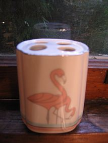 Flamingo Toothbrush Holder