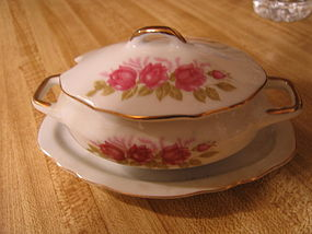 Sealy Rose Sugar Dish