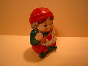 Avon Boy Christmas Shaker