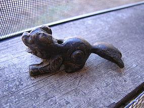 Brass Temple Dog Incense Burner