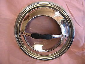 Stainless and Glass Lid