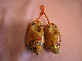 Miniature Wooden Shoes