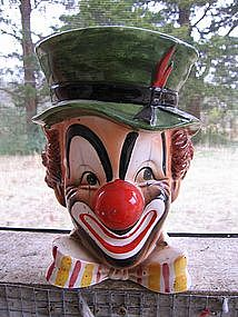 Relpo Clown Head Vase