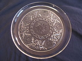 Anchor Hocking Sandwich Glass Snack Plate