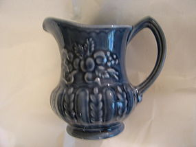 Shorter and Son Blue Cream Pitcher  SOLD