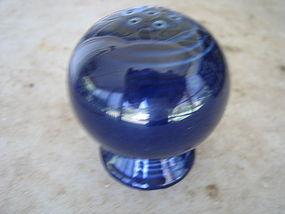 Cobalt Blue Fiesta Salt Shaker