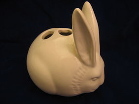 Bunny Rabbit Pencil Holder